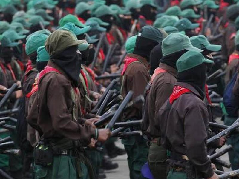 Denuncia EZLN consulta simulada por Tren Maya