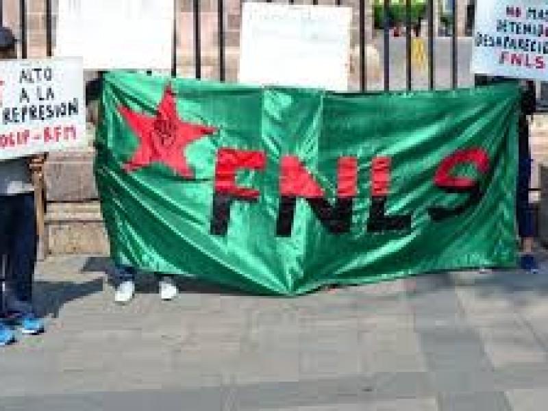 Denuncia FNLS persecución del Gobierno del Estado
