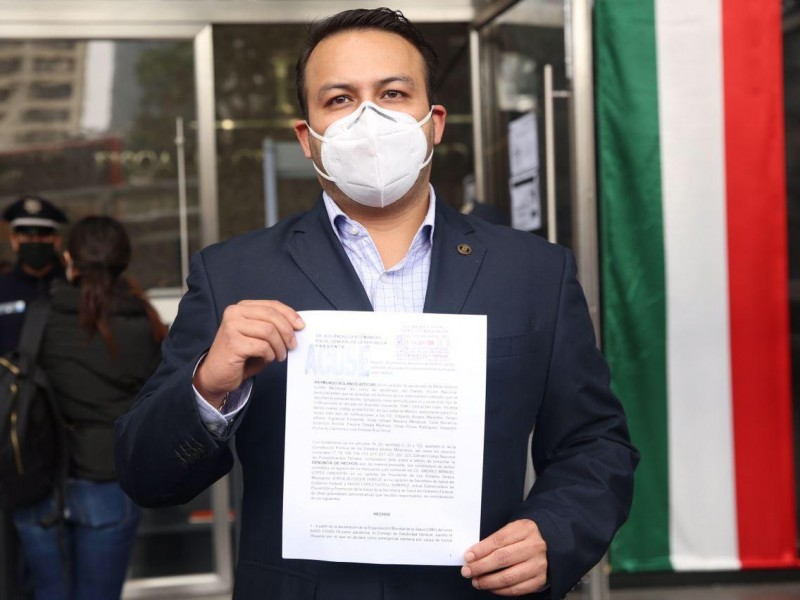 Denuncia PAN funcionarios por deficiente manejo de la pandemia