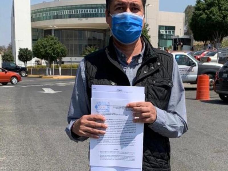 Denuncia por Amenazas Contra el Dirigente Estatal de FXM