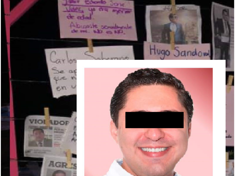 Denuncian a precandidato del PRI en tendedero del acoso