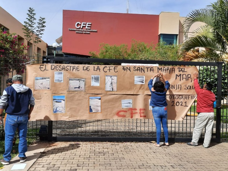 Denuncian a CFE por irregularidades en construcción de Granja Solar