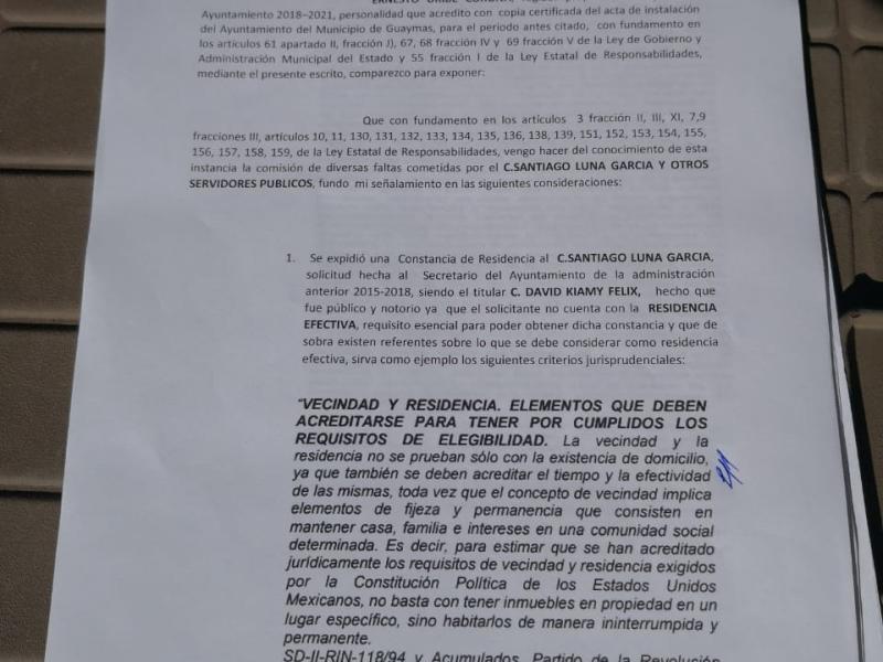 Denuncian a funcionarios ante ISAF