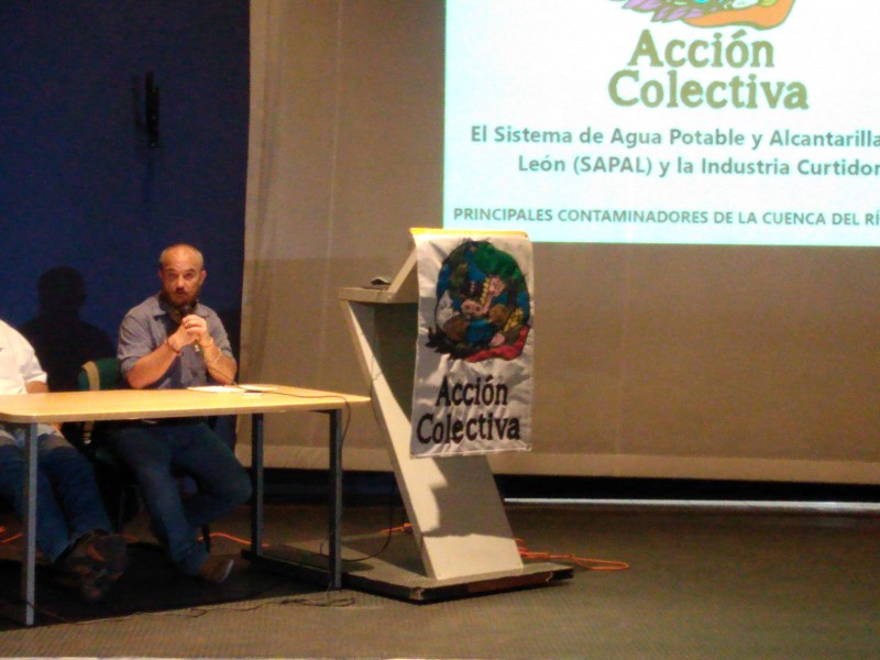 Denuncian activistas contaminación por aguas mal tratadas en León