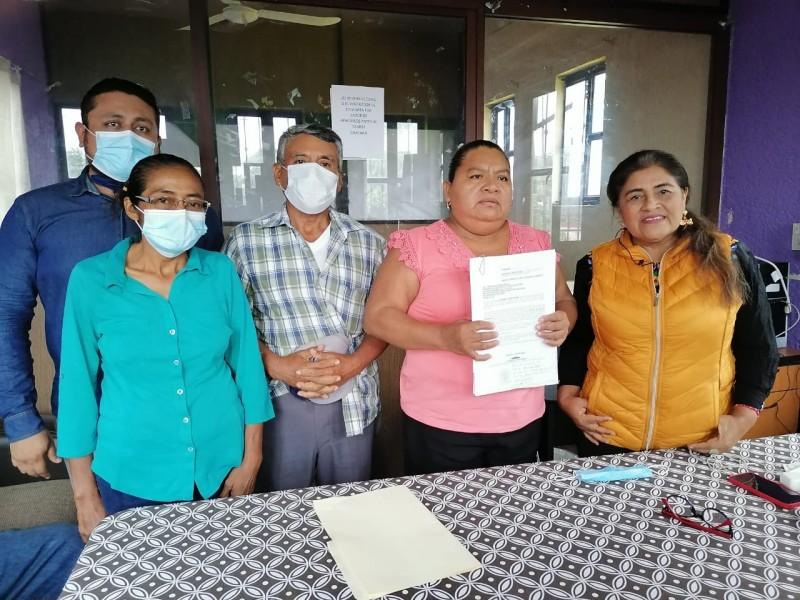 Denuncian amenazas en contra de presidenta electa de San Dionisio