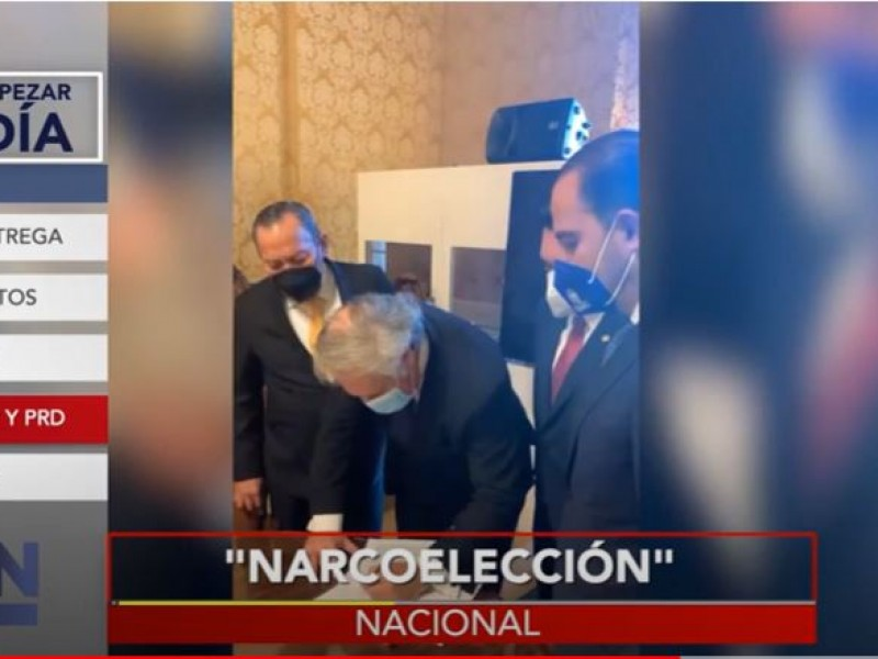 Denuncian ante la OEA narco-elección en México