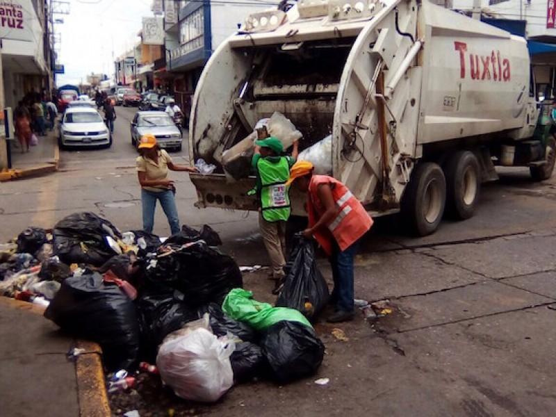 Denuncian ciudadanos, mal servicio de recolección de basura