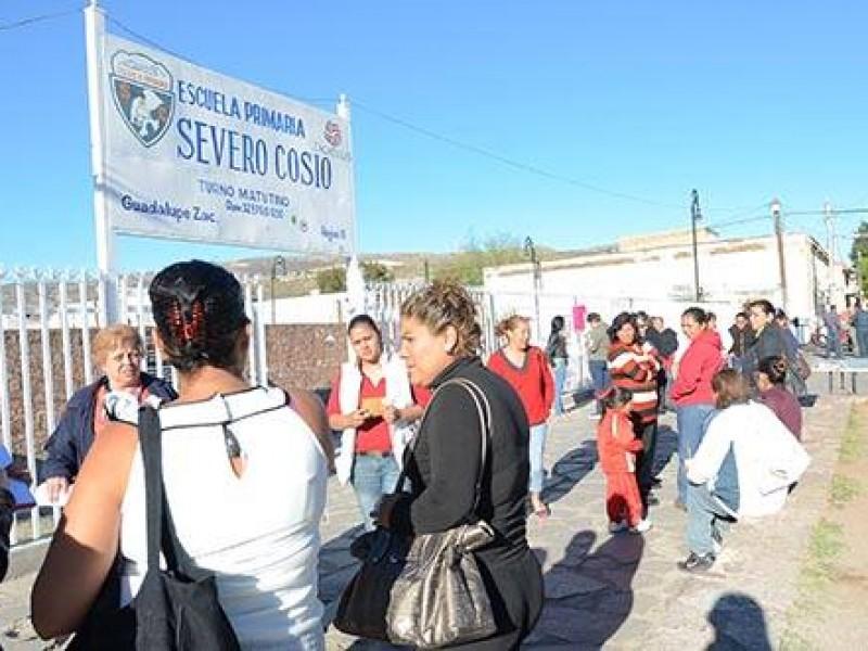 Denuncian cobro de cuota en primaria Severo Cosío de Guadalupe