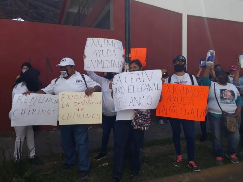 Denuncian colectivos de personas desaparecidas inoperancia de gobierno e instituciones