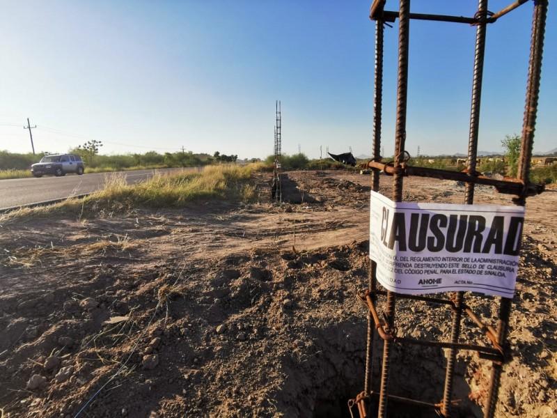 Denuncian construcciones irregulares sobre la carretera Mochis-Ahome