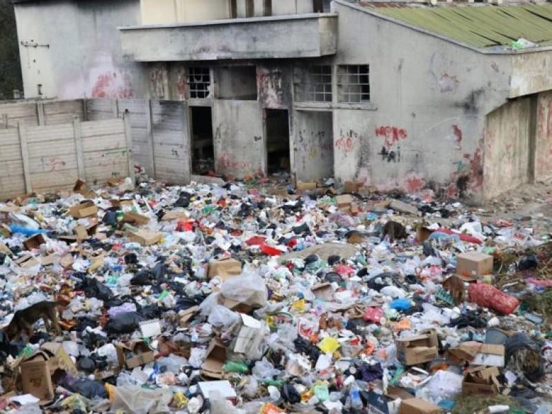 Denuncian deposito de basura clandestino en SCLC