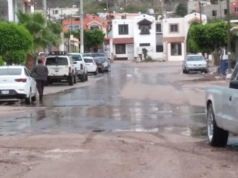 Denuncian derrames de aguas negras en Guaymas Norte