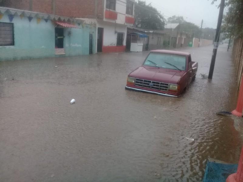 Denuncian en Cintalapa deficiente drenaje pluvial, genera inundaciones