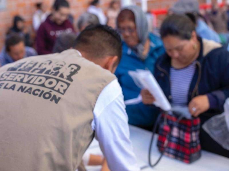 Denuncian evento masivo de entrega de apoyos federales en Tangancícuaro
