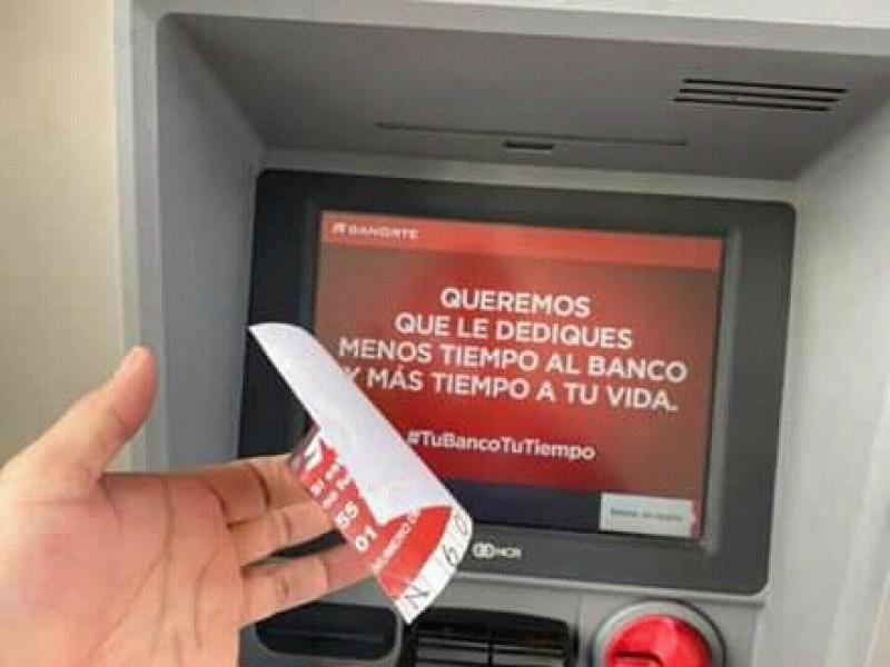 Denuncian fraude en cajero automático del puerto de Veracruz