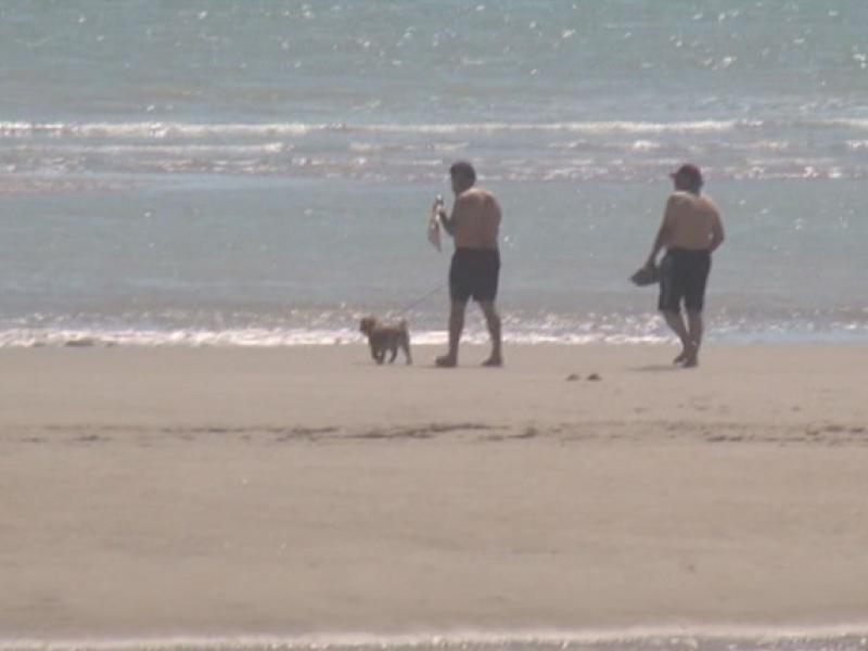 Denuncian golfeños playas sucias tras reapertura al turismo