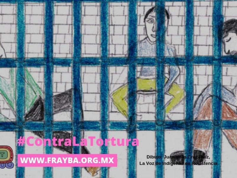 Denuncian hostigamiento a presos en huelga