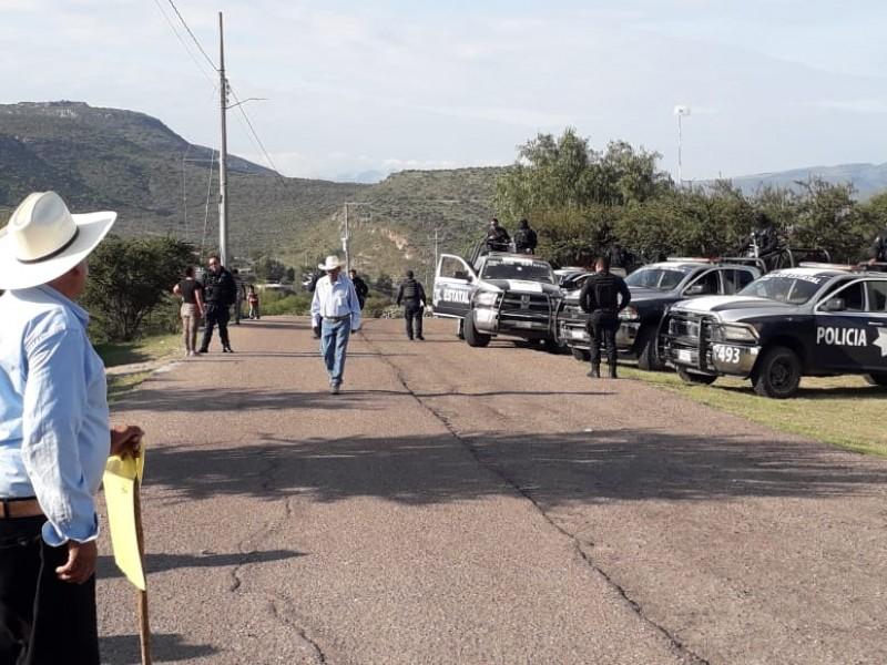 Denuncian intimidación de policías estatales en Atotonilco
