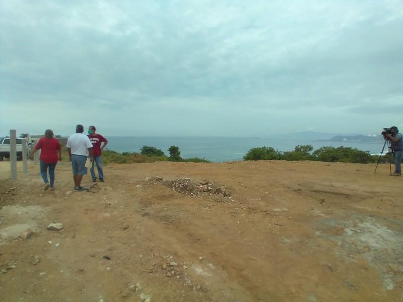 Denuncian invasión de terrenos en la colonia Miramar