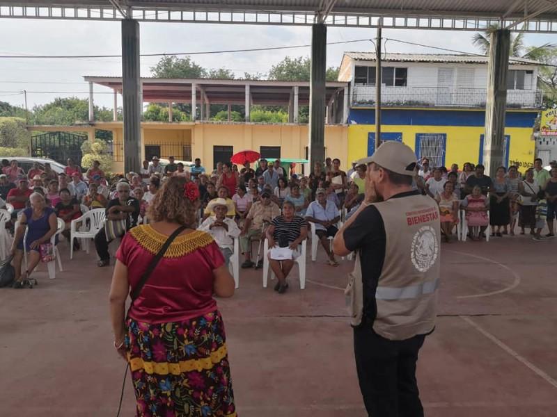 Denuncian irregularidades del programa Bienestar para Adultos Mayores