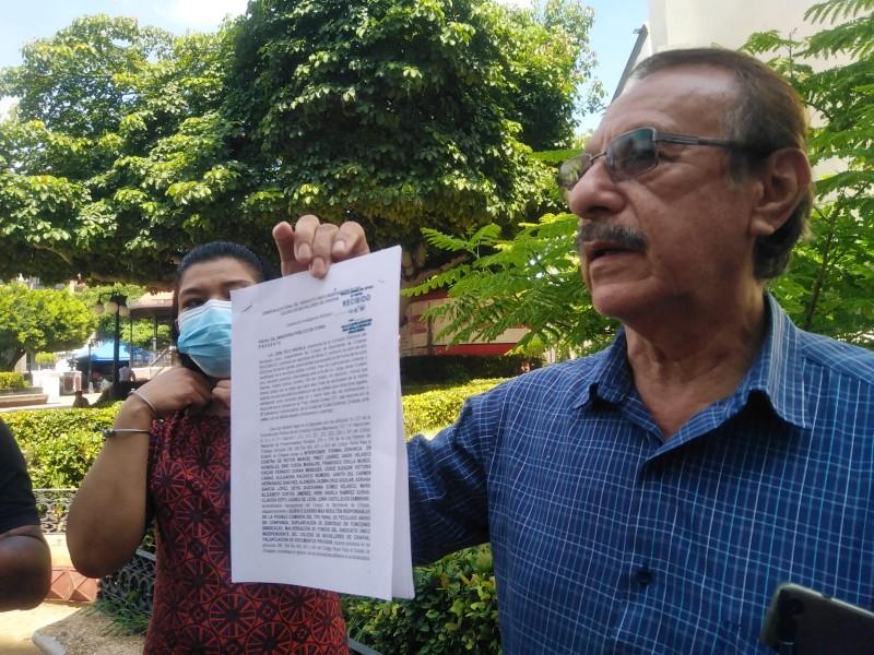 Denuncian penalmente a ex líder sindical del Suicobach