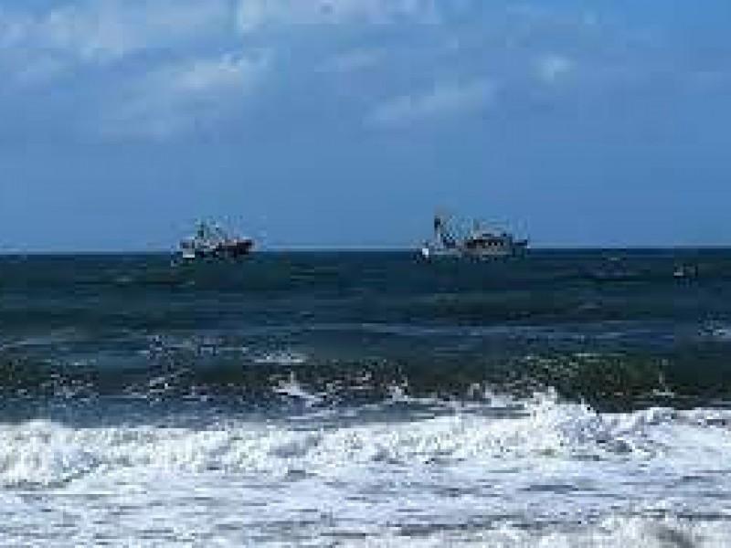 Denuncian pescadores saqueo por parte de barcos sardineros