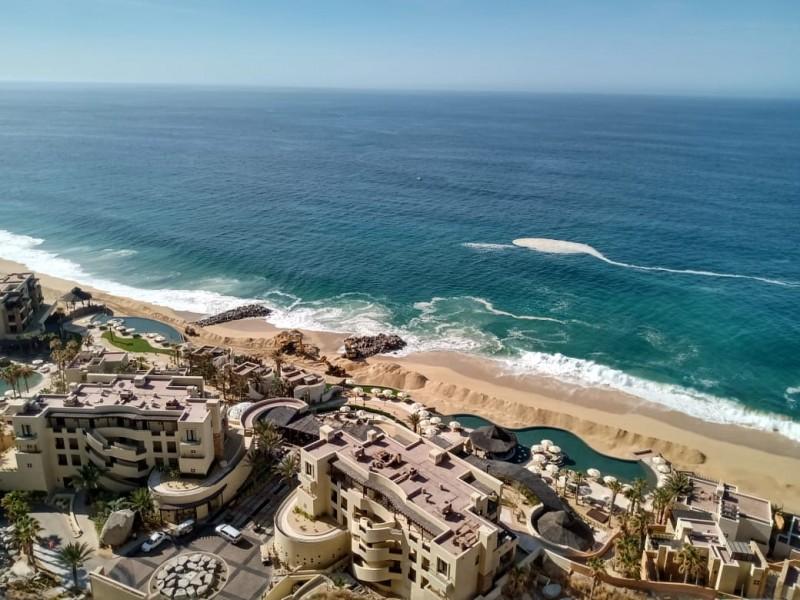 Denuncian posible daño ecológico por contruccion de espigones en playas