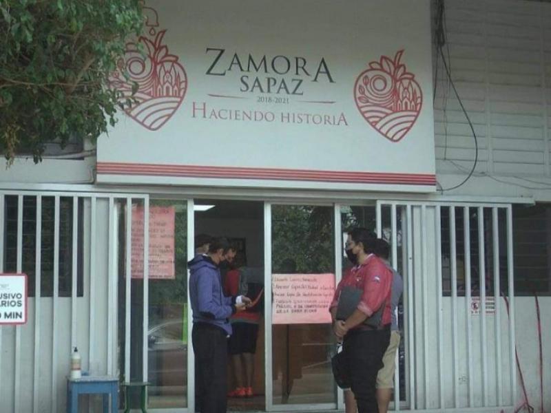 Denuncian presunto brote de COVID-19 entre trabajadores del SAPAZ