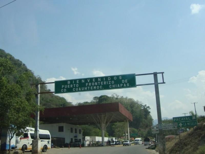Denuncian vejaciones de autoridades en la frontera sur