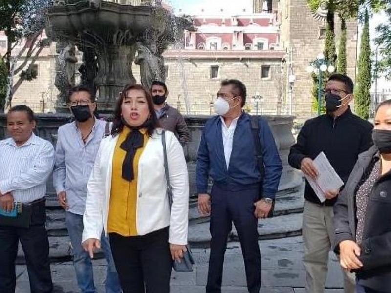 Denuncias anomalías de edil, regidores de Rafael Lara Grajales