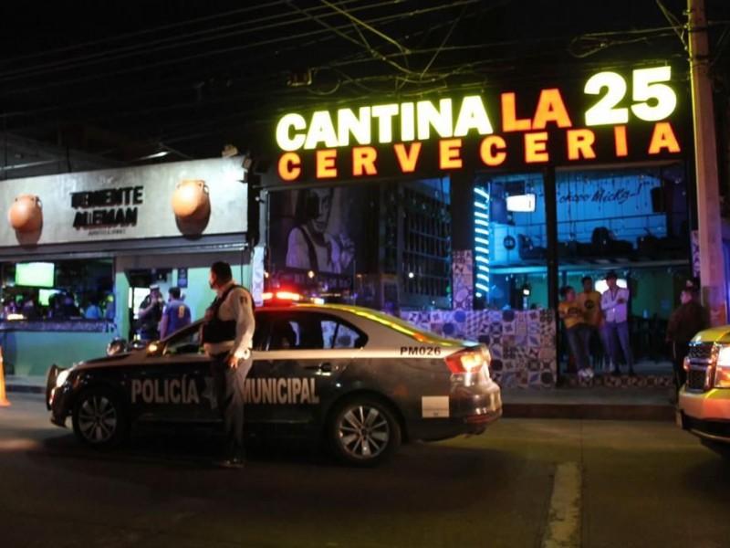 Dependencias de seguridad realizan supervisión de centros nocturnos en Morelia