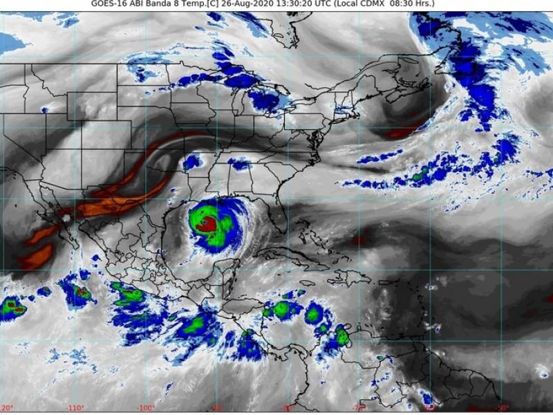 Depresión tropical 14-E acompañará a tormenta tropical Hernán