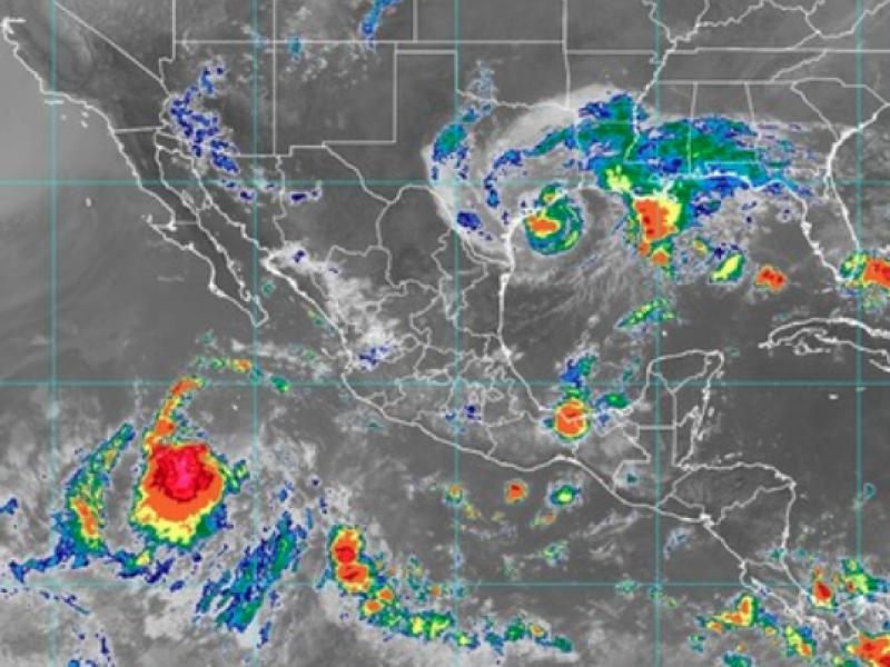 Depresión tropical 17-5 provocará tormentas en Nayarit