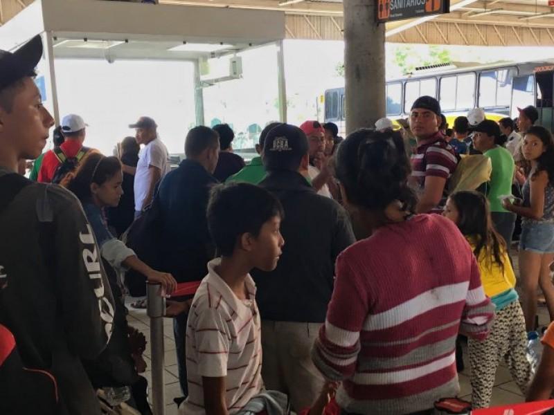 Derechos humanos espera a cinco mil migrantes