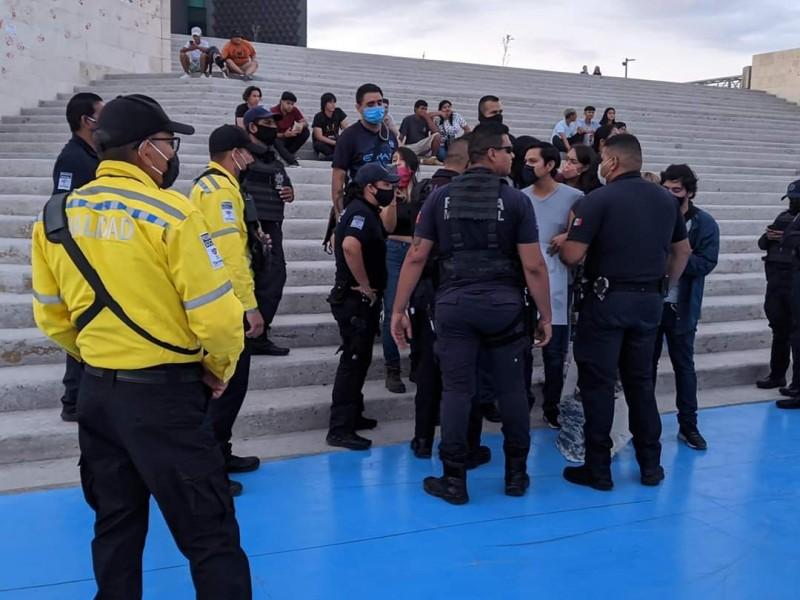 Derechos Humanos no ha visto videos de presunto abuso policiaco