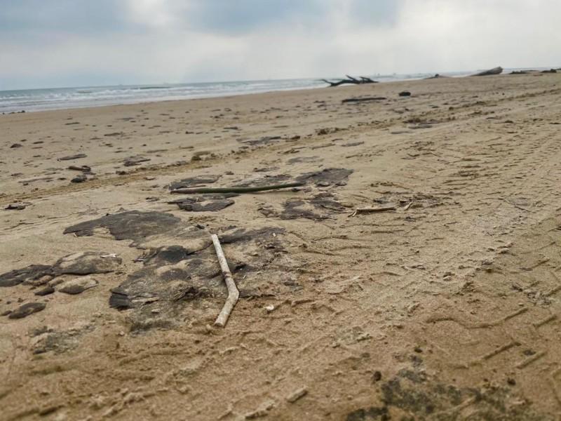 Derrame de Chapopote en playas de Tuxpan
