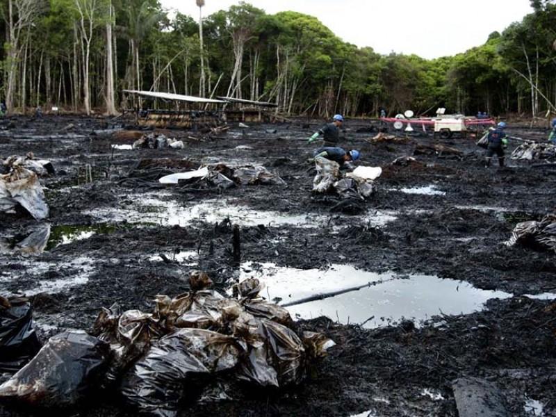 Derrame de crudo causa toxicidad en sangre de indígenas amazónicos