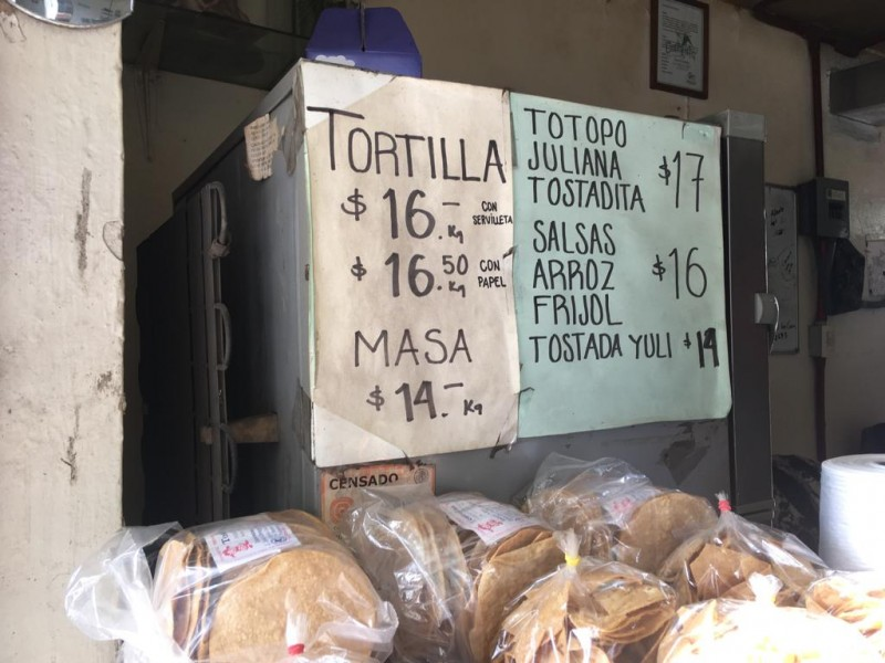 Desabasto de gasolina afectó a tortilleros
