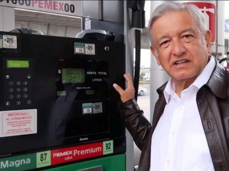 Desabasto de Gasolina es por cambio de Transporte