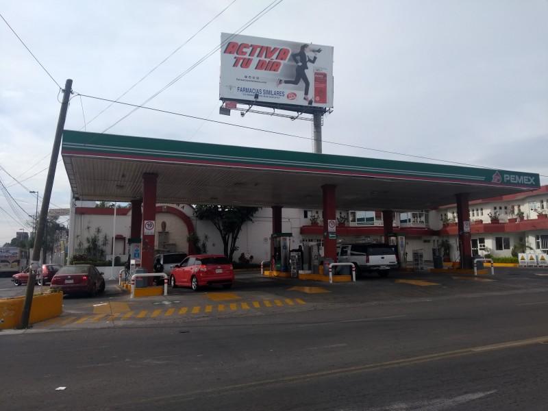 Desabasto de gasolina Magna