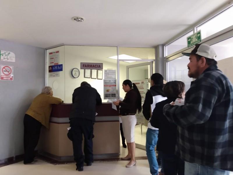 Desabasto del 30% en medicamentos en ISSSTESON Guaymas