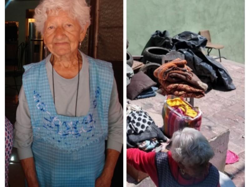 Desalojan a Alicia, una mujer de 76 años de edad