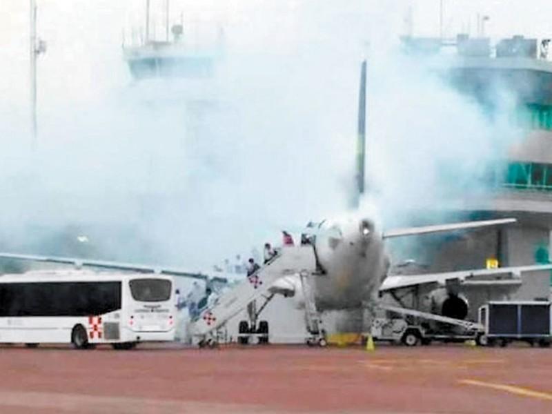 Desalojan avión de Volaris en aeropuerto de Guadalajara