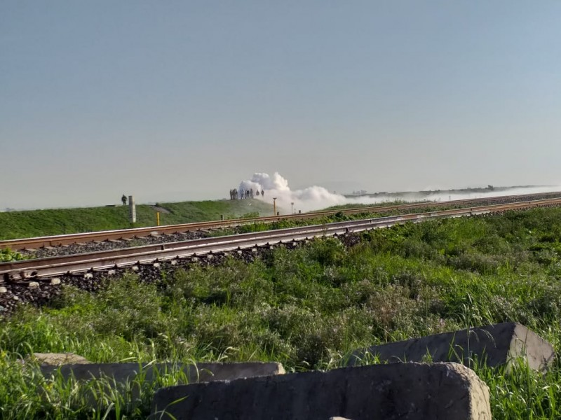 Desalojo masivo por fuga de gas en Nextlalpan