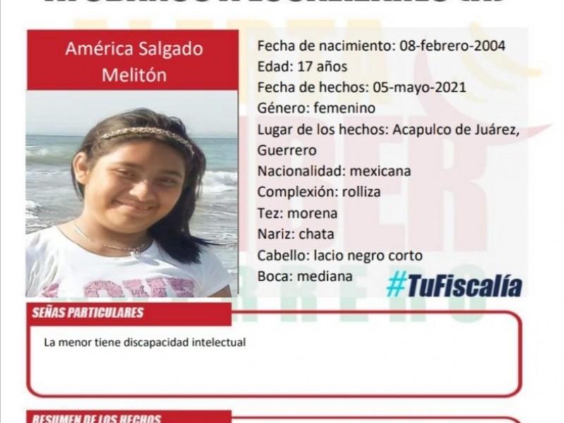 Desaparece una joven de 17 años en Acapulco