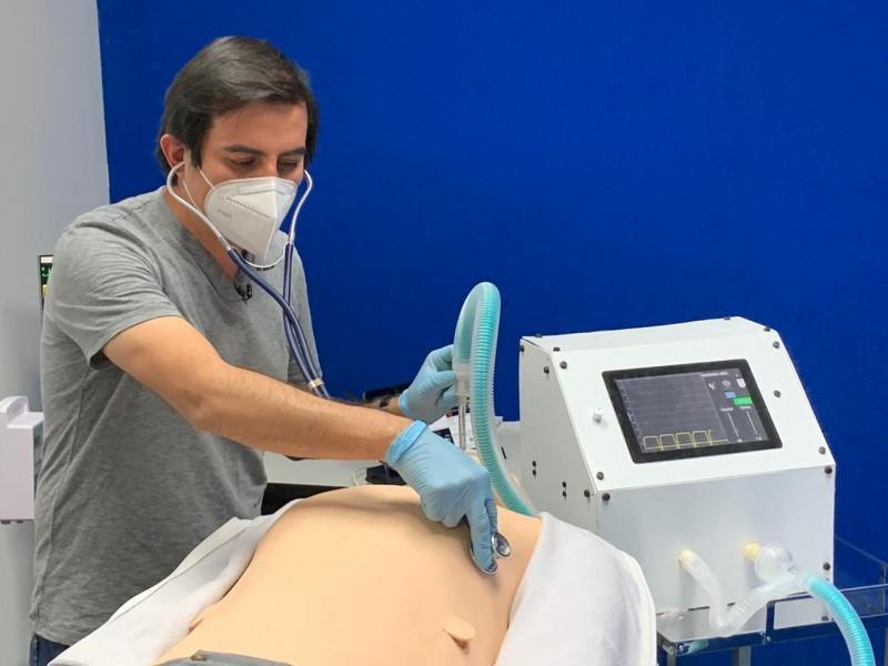 Desarrollan sistema de ventilación para emergencia sanitaria