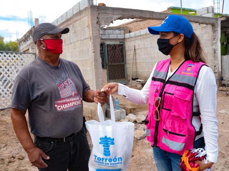 Desarrollo Social de Torreón reorienta recursos para apoyos por contingencia