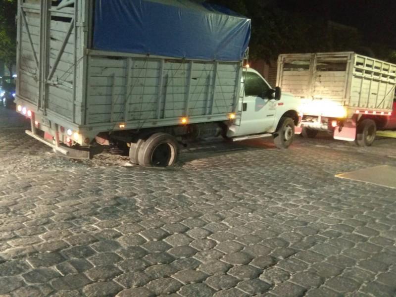 Desatención de autoridades en obras generan accidentes