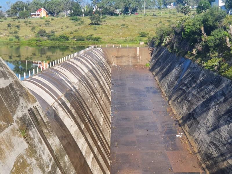 Desbordamiento de presa de Valsequillo no preocupa a vecinos