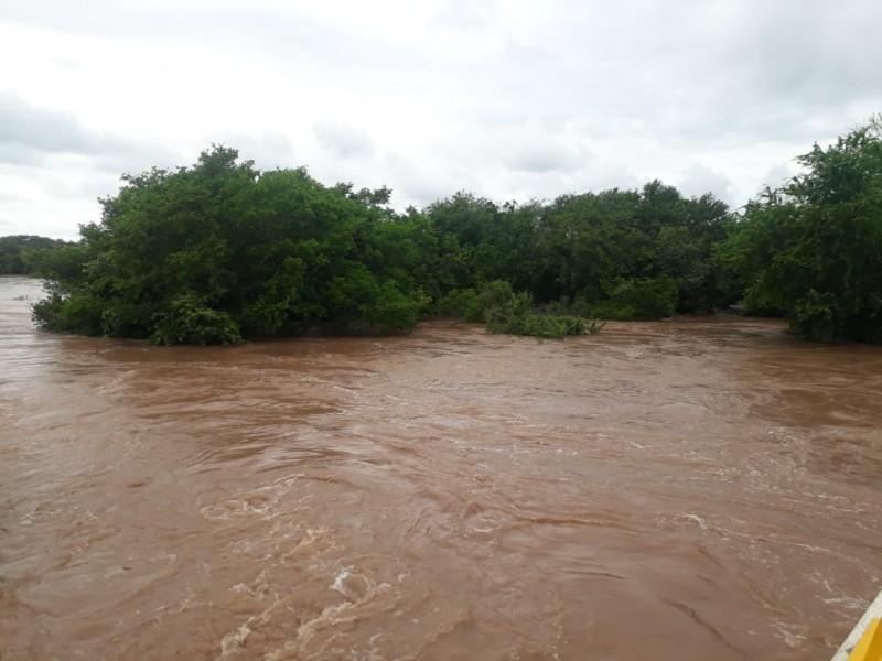 Desbordamiento del río San Pedro no representó peligro